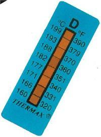 8格英国THERMAX测温纸