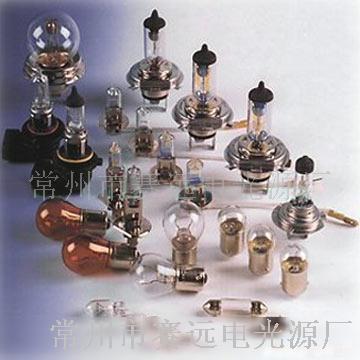 主要产品:各种型号汽车灯泡