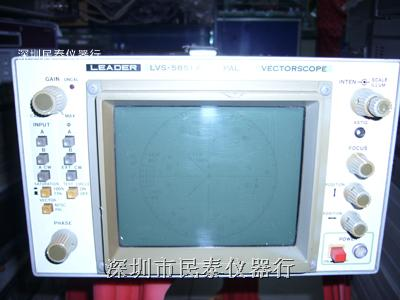 二手矢量示波器 leader lvs-5851a