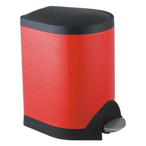 脚踏垃圾桶-红色