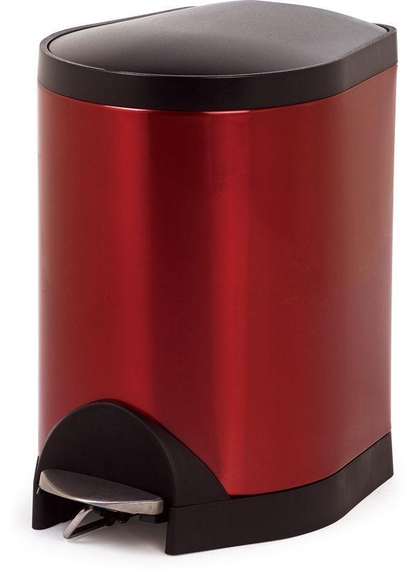 脚踏垃圾桶-透明红 脚踏垃圾桶容量:5升、8升 脚踏垃圾桶规格:5升265*200*304 8升335*248*380 脚踏垃圾桶包装:1个产品/1个透明胶袋/1个黄色外箱,(6个一件) 脚踏垃圾桶产品材质:桶身:冷板喷粉, 盖子:ABS塑料, 桶底:ABS塑料, 内桶:PP塑料 联系电话: 0755-28713136 0755-28713135 在线QQ: 2851692710 2851692713 E-mail:sunny@gdzhx.