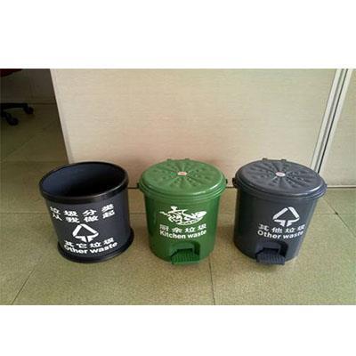 小号家庭分类垃圾桶,带脚踏