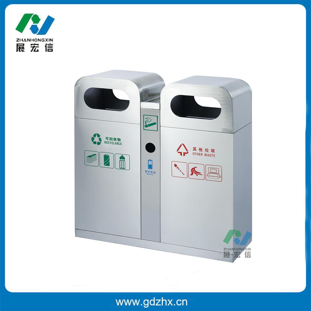 分类环保垃圾桶(砂钢,gpx-102s)