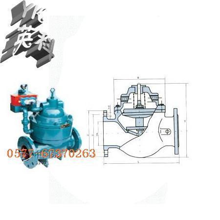 气液联动隔膜排泥阀 j841x