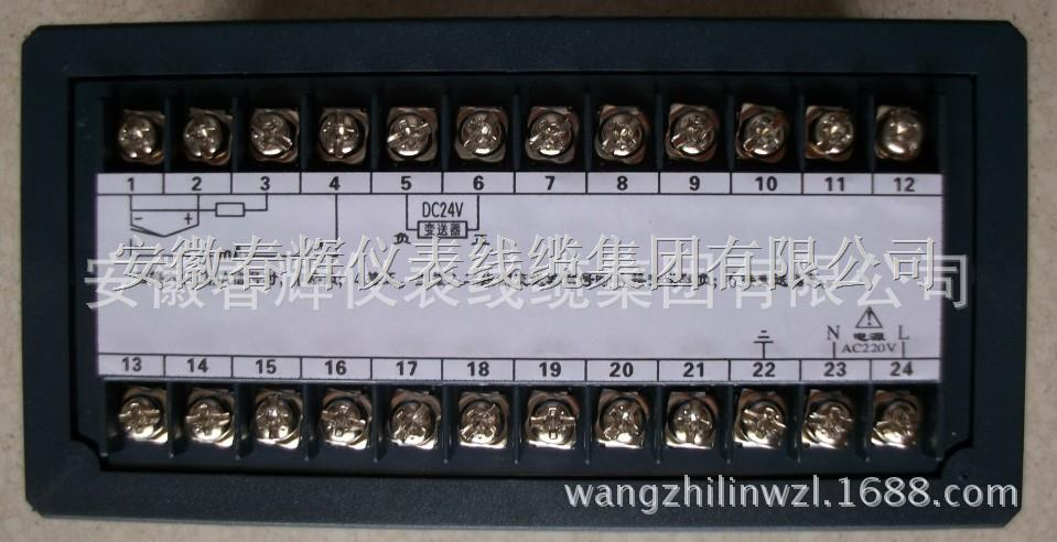一、概述: XMZ XMT数字显示调节仪按国家标准《工业过程测量和控制系统用数字式指示仪》生产,并采用了新颖、独特的线路设计原理,独创的结构形式。便其结构和线路均非常简单,因此可靠性高,抗震性好,使用维护方便。   XMZ XMT数字显示调节仪具有0~10mA或4~20mA恒流输出功能,可与执行机构组成简介的调节系统,或直配计算机组成自控系统无须再配变送器,为工业过程多参数控制提供了便利,同时具有二位式,三位式时间比例PID调节功能。 1、热电偶或辐射感温器; 2、热电阻产生电阻变化的传感器; 3、霍尔压