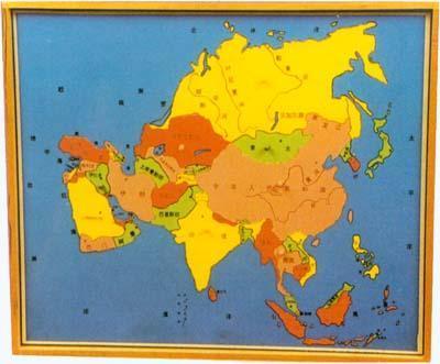 亚洲地图嵌板 亚洲地图嵌板