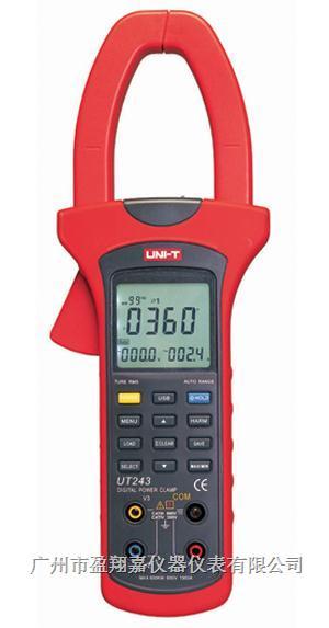 电力钳形谐波功率计UT243