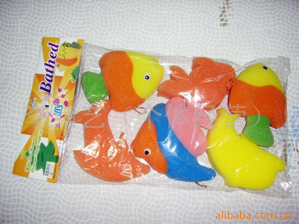 海绵水果动物组合